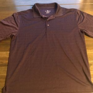 Men's Grand Slam Golf Polo Dark Purple